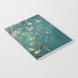 Van Gogh Blossoming Almond Tree Notebook