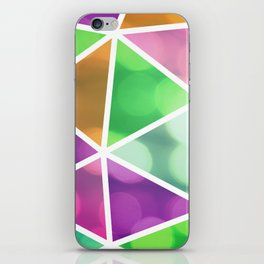 vivid dodecahedron iPhone Skin