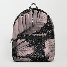 Banana Leaves Glitter Glam #4 #shiny #tropical #decor #art #society6 Backpack