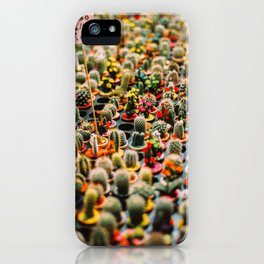 Cactus Land iPhone Case