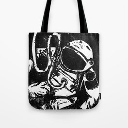 Space Man Tote Bag
