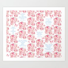 Wrap yourself in the promises of God Art Print