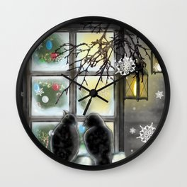 Warmth from Within Wall Clock
