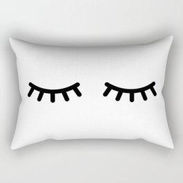 Eyelash Rectangular Pillow