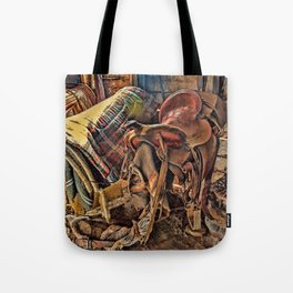 The Old Tack Room Tote Bag