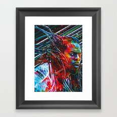 Richard Sherman Framed Art Print