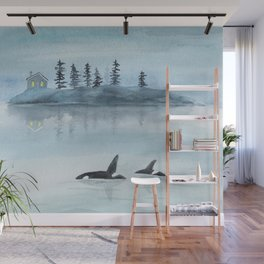 Nature is my home Wall Mural