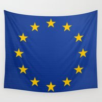 europe Wall Tapestries featuring Europe, the nation. by Julius Marc