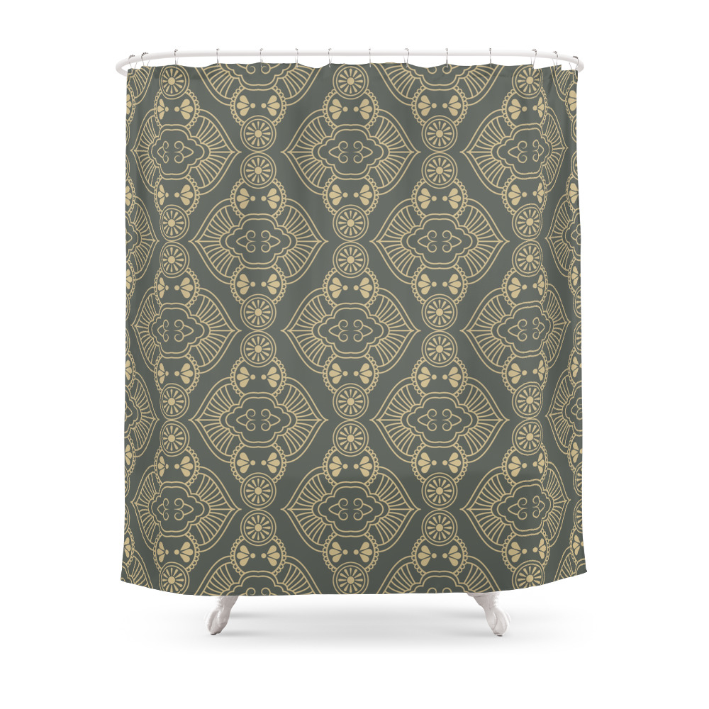 Elegant Bathroom Curtain Sets: Elegant Shower Curtains