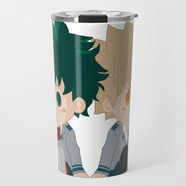 Deku & Kacchan - Chibi Travel Mug