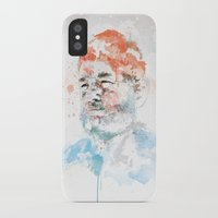murray iPhone & iPod Cases featuring Bill Murray by I AM DIMITRI