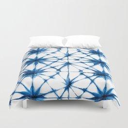 Shibori Tie Dye Pattern Duvet Cover