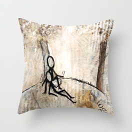 chillen Throw Pillow