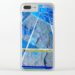 Track And Field Art Clear iPhone Case