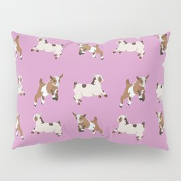Baesic Prancing Goats Pillow Sham