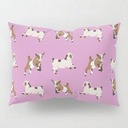 Baesic Prancing Goats Pillow Sham