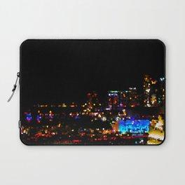 Miami Night Lights Laptop Sleeve