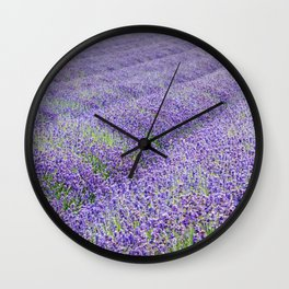 LAVENDER MOOD Wall Clock