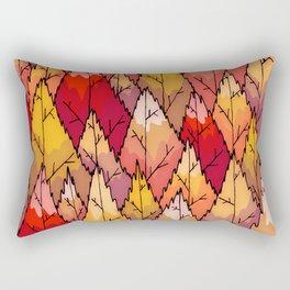 The fiery woodland  Rectangular Pillow