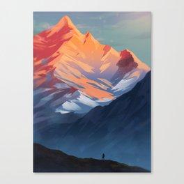 Chasing Light Canvas Print