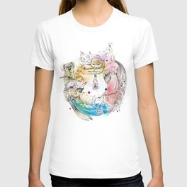 Animals Wreath T-shirt