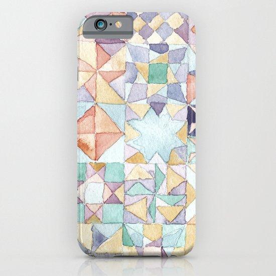 watercolour quilt iPhone & iPod Case