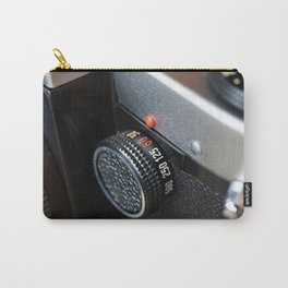 Control dial shutter speed on retro photo camera Carry-All Pouch