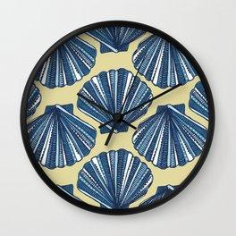 She sells, sea shells Wall Clock