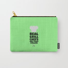 Real Grill Chefs are from Finland T-Shirt Dkwx2 Carry-All Pouch