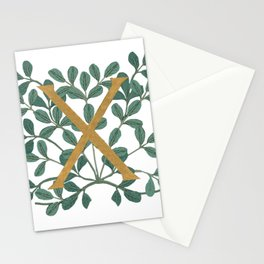 Forest Letter X Lite 2020 Stationery Cards