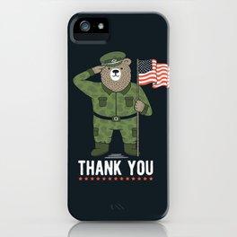 Veteran's Day iPhone Case