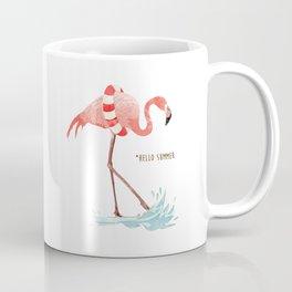 Flamingo - Hello Summer Coffee Mug