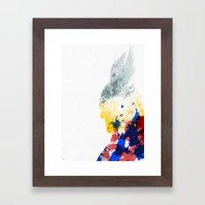Nordic Star Framed Art Print