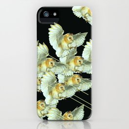 Killer Owls iPhone Case