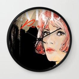 Bardot  Paris Wall Clock