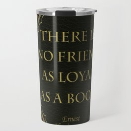 Book Quote 10 Travel Mug