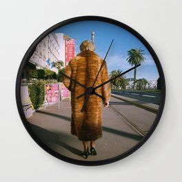 Lady of Nice Wall Clock