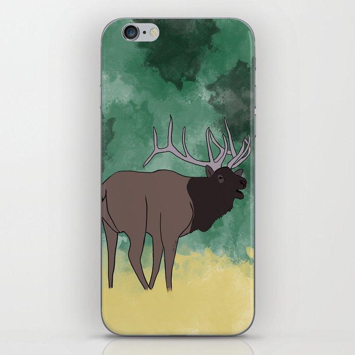 Bull Elk Bugling iPhone Skin