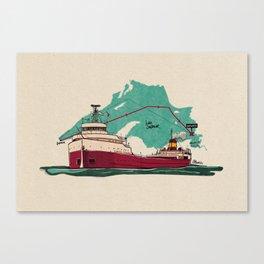 the edmund Canvas Print