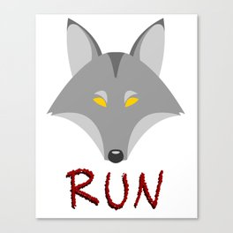 Wolf - Run Canvas Print