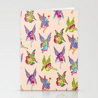 fairies Stationery Cards featuring Fairies by Elizabeth Kate