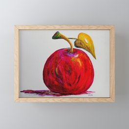 Kaleidoscope Apple or APPLE FOR THE TEACHER Framed Mini Art Print