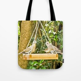 Dove Dining Tote Bag
