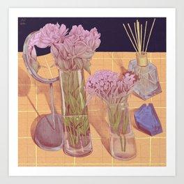 Favourite flowers Art Print