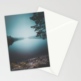 Lake insomnia Stationery Cards