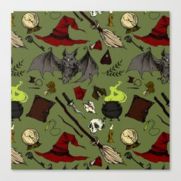 Witch craft Canvas Print