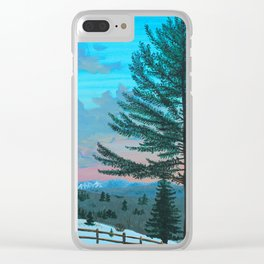 VT Cabin View Clear iPhone Case