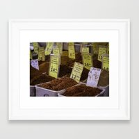 spice Framed Art Prints featuring Spice by SunnyNomad