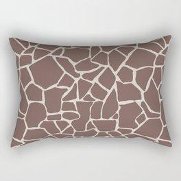 Brown Elephant Rectangular Pillow