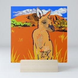 Uluru Mini Art Print